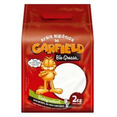 Areia Higiênica do Garfield Bio Grossa - Meuamigopet.com.br #cat #cats #gato #gatinho #bigode #muamigopet