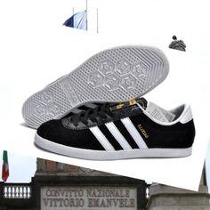 purchase cheap 9e667 e904f scarpe-sportit.com Adidas uomini gazzella iv Camoscio nero bianco formatori  Italia in modo da mantenere sempre il miglior stato