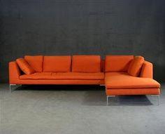 Lauritz.com - Furniture - Antonio Citterio, two-part sofa Charles for B&B Italia (2) - DE, Hamburg, Große Elbstraße