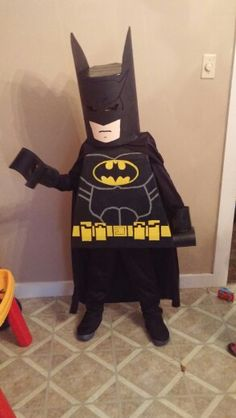 Diy lego batman costume! I love this site for ideas. Im so proud of myself. He won first prize too.