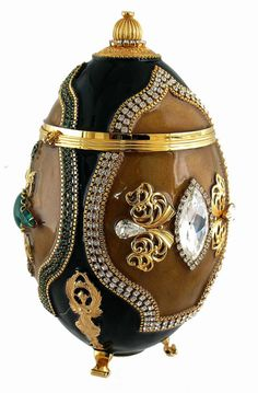 A Fabergé Egg is a jeweled egg made by the House of Fabergé.