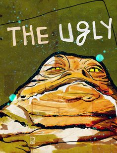 The Good, The Bad & The Ugly: Star Wars Art Print