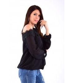 2d4e54f5a71 Blouse dentelle épaules dénudées - pas cher Cinelle boutique mode pour femme  à petits prix