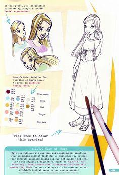 Concept art of Cornelia Hale from W.I.T.C.H. Disney Illustration, Character Illustration, Art Illustrations, Disney Character Drawings, Disney Drawings, Animated Cartoon Characters, Cartoon Movies, Cornelia Witch, Cornelia Hale