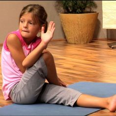 Top 6 Kids Yoga Poses for Bedtime: a calming sequence