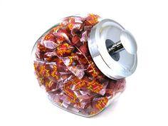 Glass Candy Jar (Atomic Fire Balls) OldTimeCandy.com