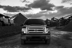 Ford, F150, Truck, Photo shoot, Black and White, Dynamic