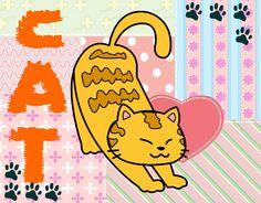 neko-chan | Dibujo de Gato vago pintado por Neko-chan en Dibujos.net el día 06-07 ...