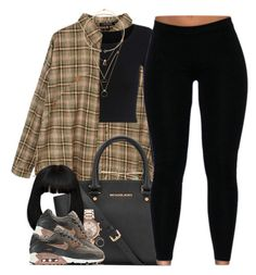 """Rustic"" by oh-aurora ❤ liked on Polyvore featuring Retrò, Benetton, MICHAEL Michael Kors, Michael Kors, NIKE, Michelle Campbell Jewelry, Maison Margiela and rustic"