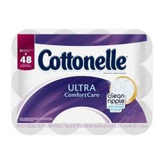 Cottonelle Ultra ComfortCare Best Toilet Paper, Good Things, Cleaning