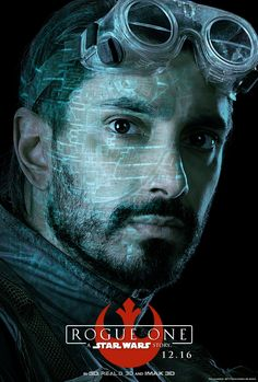 Star Wars Rogue One Bodhi Rook character poster Rogue One: A Star Wars Story Character Posters & Descriptions