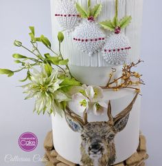 Highland Winter Wedding - Cake by Callicious Cakes