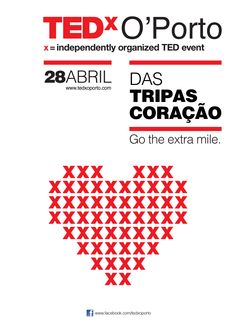 tedx Oporto, Portugal.  May be instead of TEDxx, we do a Salon on Love.