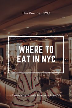 Where to eat in NYC?