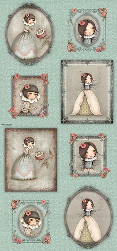 """Mirabelle Curiosity - Seeking Wishes - 24"""" x 44"""" PANEL - Quilt Fabrics from www.eQuilter.com"""