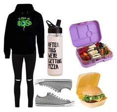 """""""Untitled #433"""" by syshrn on Polyvore featuring Boohoo, Converse, ban.do and Yumbox"""