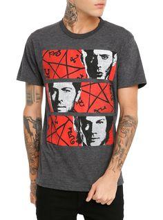 Supernatural Trio Pentagram T-Shirt | Hot Topic