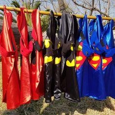 Superhero Capes Superhero Capes, Handmade Toys, Outdoor Decor, Party Ideas, Home Decor, Room Decor, Home Interior Design, Decoration Home, Ideas Party