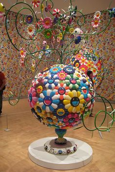 NYC - Brooklyn: Brooklyn Museum - ©MURAKAMI - Flower Matango by wallyg, via Flickr