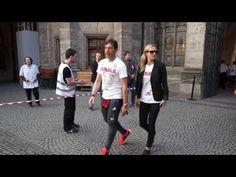 FC Bayern München Double Feier 2016 - Spieler verlassen das Rathaus