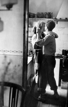 "Available for sale from Magnum Photos, Elliott Erwitt, ""Couple dancing"" (Valencia, Spain) Signed silver gelatin print (photographer's signature on … Dancing In The Kitchen, Robert Frank, Foto Art, Romantic Dinners, Romantic Recipes, Lets Dance, Swing Dancing, Belle Photo, Black And White Photography"