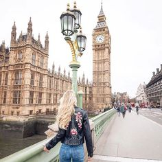 On any visit to London you simply can't miss Big Ben, the iconic clock tower that stands at the east end of the Houses of Parliament ( : @meryldenis taken by @lillysteria) #GirlsBornToTravel ✈️ with @eurostar #Regram via @girlsborntotravel