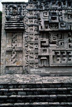 mayan architecture. uxmal. nunnery quadrangle. ~500 ad. | bc