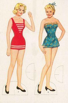 Sandra Dee paper dolls / eBay