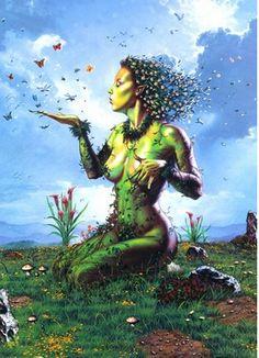 Resultado de imagen de titan gea fan art