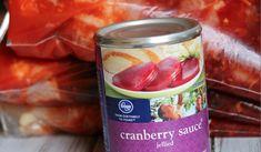 Crockpot Cranberry Chicken Recipe http://cookinginbliss.com/crockpot-cranberry-chicken-recipe/ #recipes #crockpotrecipes #freezermeal