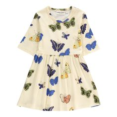 Organic Cotton Butterfly Skater Dress-product