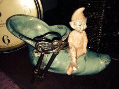 My fun vintage elf on the shelf