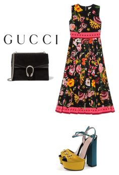 """Presenting the Gucci Garden Exclusive Collection: Contest Entry"" by iiknurtiana ❤ liked on Polyvore featuring Gucci and gucci"