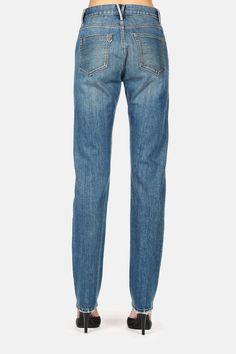 3 x 1 — 3 X 1 X The Line 5 Pocket High Rise Jean Allen Wash — THE LINE