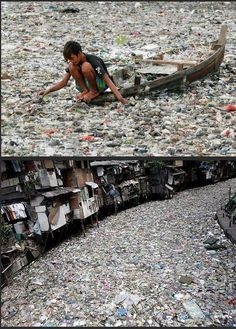 Plastic pollution often seems like a distant problem. Sometimes we need shocking images like this one to truly grasp the implications and scale of plastic pollution. Save Mother Earth, Save Our Earth, Save The Planet, Our Planet, Our World, Planet Earth, Ocean Pollution, Plastic Pollution, Our Environment