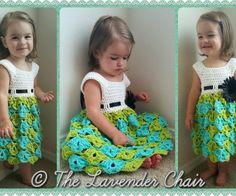 Sally's Sun Dress - Free Crochet Pattern - The Lavender Chair