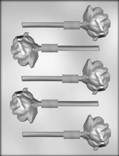 CK Products 2-1/8-Inch Rose Sucker Chocolate Mold >> Huge discounts available at : baking essentials