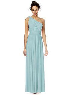 Convertible Wrap Dress: The TWIST Wrap Dress, Long: The Dessy Group