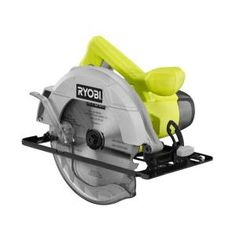 Woodworking Circular Saw Factory Reconditioned Ryobi 13 Amp in. Circular Saw (Green) - Factory Reconditioned Ryobi 13 Amp in. Circular Saw (Green) Compact Circular Saw, Circular Saw Reviews, Cordless Circular Saw, Dremel Saw Max, Building A Floating Deck, White Wood Paneling, Sierra Circular, Ryobi Tools, Wood Crafts