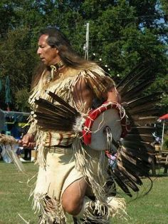 Very powerful and very handsome native American dancer! Oh my!!