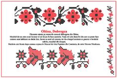 Camasa cu placta din Oltina Dobrogea #Dobrogea Model descifrat si desenat de catre Simona Niculescu Folk Embroidery, Folk Costume, Projects To Try, Cross Stitch, Words, How To Make, Model, Stitches, Traditional