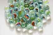 Marbles. I used to have a whole collection that I won off of the boys!