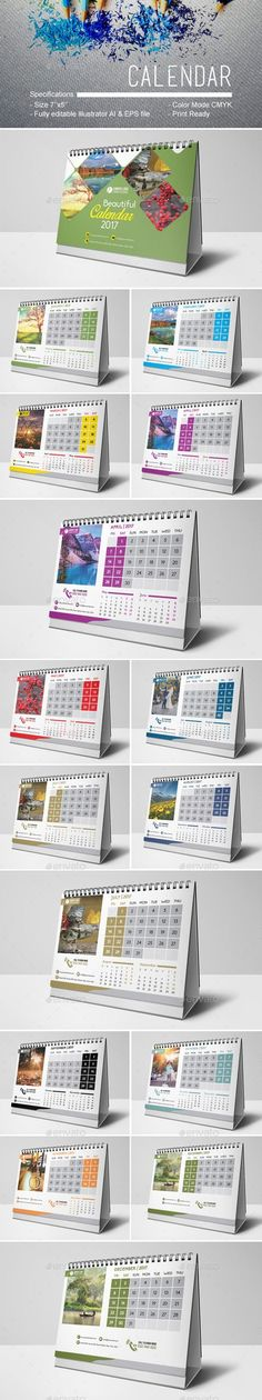 33 best Calendera images on Pinterest in 2018 Desk calendars