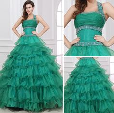 Dream Natural No Train Ball Gown Prom Dresses