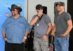 Colt Ford, Brantley Gilbert and Jason Aldean