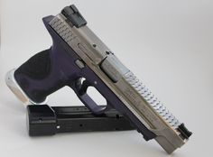 Smith & Wesson M&P pro 9 mm with Apex trigger upgrade & upgraded magazine floor plate - deadly accurate.
