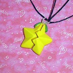 Kingdom Hearts - Friendship Paopu Fruit Necklaces by YellerCrakka ($30)