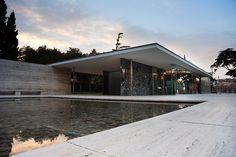 The Barcelona Pavilion.