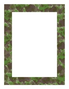 camouflage page border free downloads at http pageborders org rh pinterest com free camo border clip art clipart camouflage border