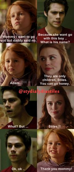 family, lydia martin, and dylan obrien afbeelding